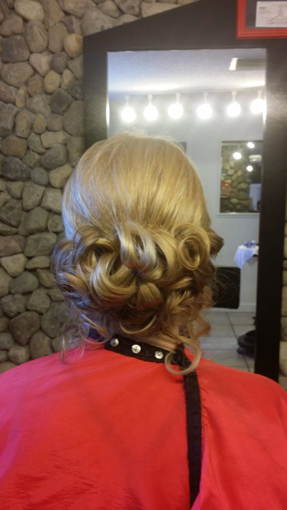 GIRL HAIRCUT FOR PROM NIGHT AT HAIRTECK INDIALANTIC